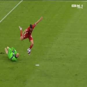 Bayern Munich [1] - 0 Chelsea - Lewandowski penalty 9' [4-0 on agg.]