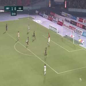 Kawasaki Frontale (2)-0 Oita Trinita - Leandro Damiao goal