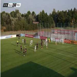 SK Slavia Prague [1]-1 MOL Fehérvár - Nicolae Stanciu 48' (Club Friendly) - Nice Goal