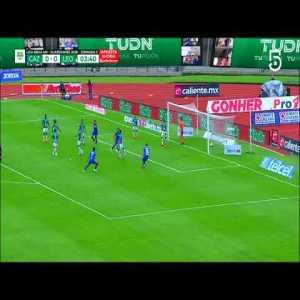 Cruz Azul [1] - 0 Leon (J. Escobar 4')