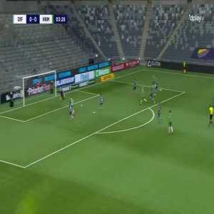 Djurgårdens IF 0-[1] Hammarby IF - Aron Johansson 4'