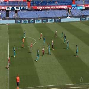 Feyenoord 3-0 Sparta Rotterdam - Crysencio Summerville 22'