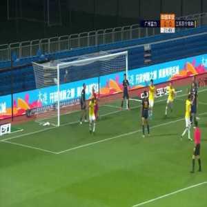 Guangzhou R&F 0-(1) Jiangsu Suning - Alex Teixeira 1st goal