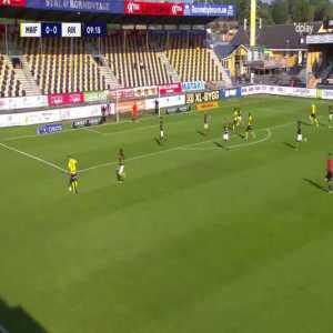 Mjällby AIF [1]-0 AIK - Moses Ogbu 10'