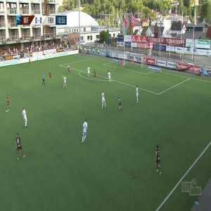 Mjøndalen 1-0 Haugesund - Shuaibu Ibrahim 20'
