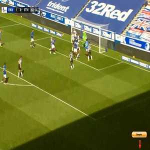 Rangers 2-0 St. Mirren - Alfredo Morelos 69'