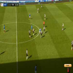 Rangers 3-0 St. Mirren - Alfredo Morelos 74'