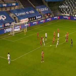 Rosenborg [2]-1 Sarpsborg 08 - Carlo Holse 63'