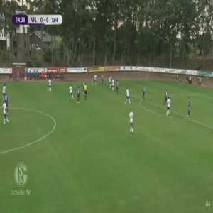 Schalke 1-0 Osnabruck - Ozan Kabak 15'