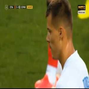 Spartak Moscow 2-[1] Sochi - Dmitri Poloz penalty 15'