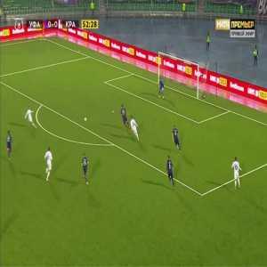 Ufa 0-1 Krasnodar - Remy Cabella 53'