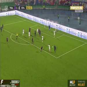 Ufa 0-2 Krasnodar - Remy Cabella 63'