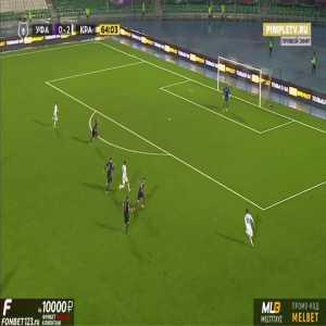 Ufa 0-3 Krasnodar - Marcus Berg 65'