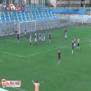 Belasica 0-[4] Sileks Kratovo - Denis Ristov Freekick 83' (Macedonian League)