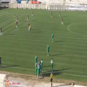 Pelister [1]-0 Akademija Pandev - Anes Hot 8' (Macedonian League)