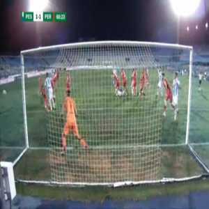 Pescara [2]-1 Perugia - Riccardo Maniero penalty 68'