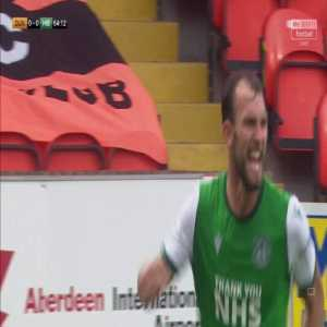 Dundee Utd 0-[1] Hibernian: Christian Doidge 65'