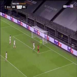 Shakhtar 2-0 Basel - M.Antonio off the post