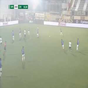 Spezia 1-0 Chievo [1-2 on agg.] - Andrey Galabinov 2'