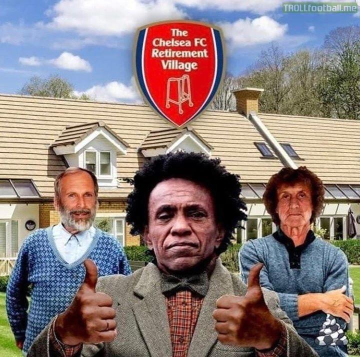 Arsenal retirement club