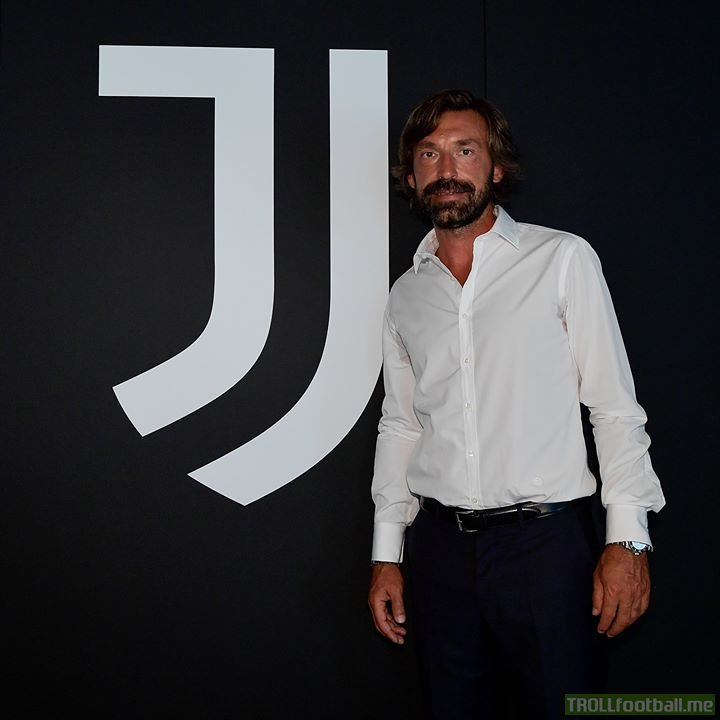 BREAKING: Andrea Pirlo is the new Juventus manager. Wow.