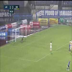 Montedio Yamagata (3)-2 Kyoto Sanga - Yuya Yamagishi nice goal