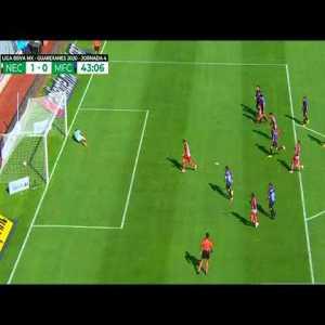 Necaxa [1] - 0 Mazatlan (L. Passerini 43')   Penalty