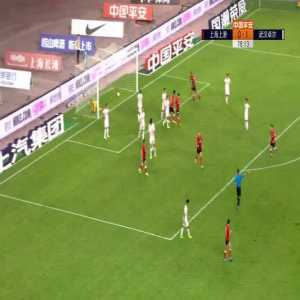 Shanghai SIPG (1)-1 Wuhan Zall - Marko Arnautovic goal