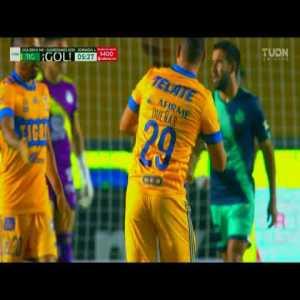 Tigres [1] - 0 Puebla (A. Gignac 6')   Penalty