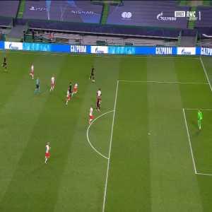 Renan Lodi (Atlético) dive vs RB Leipzig