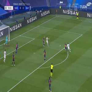Barcelona 0-1 Bayern Munich: Thomas Muller goal 4'