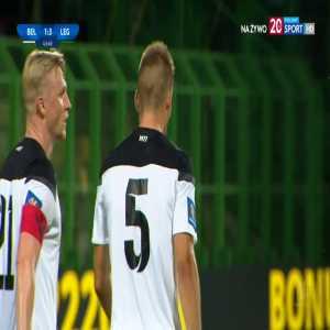 GKS Bełchatów 1-[3] Legia Warszawa - Michał Pawlik OG 44' (Polish Cup)