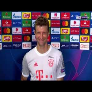 "Thomas Muller post-match interview: ""We had so much fun today"""