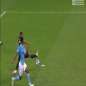 Great De Bruyne pass plus Sterling shot