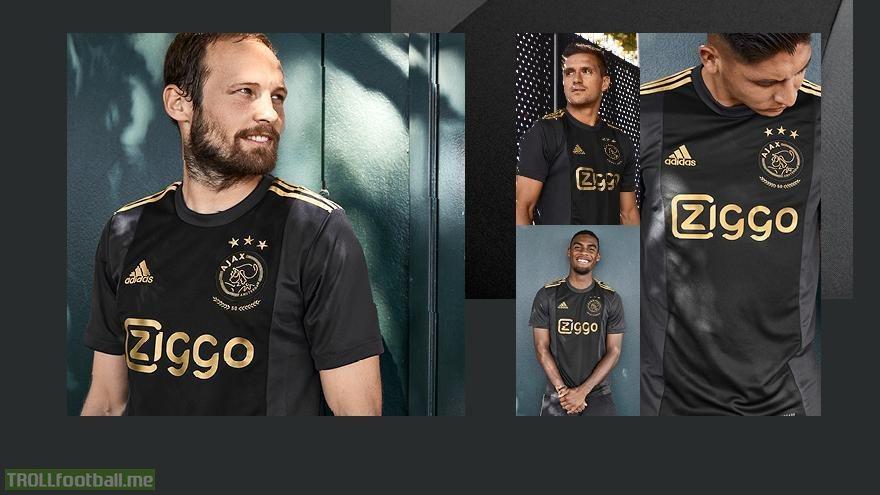 Ajax releases stunning new European away kit