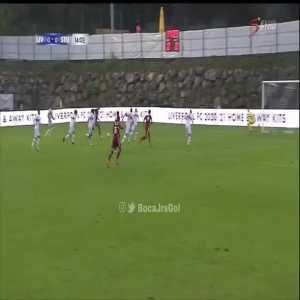 Liverpool 1-0 Stuttgart - Firmino 15'