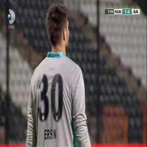 PAOK [1]-0 Besiktas - Christos Tzolis 7'