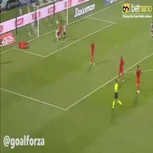 PAOK [2]-0 Besiktas - Christos Tzolis 24'