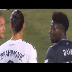"Zlatan Ibrahimovic predicting Alphonso Davies' ""bright future"" & breakthrough in FC Bayern Munich"
