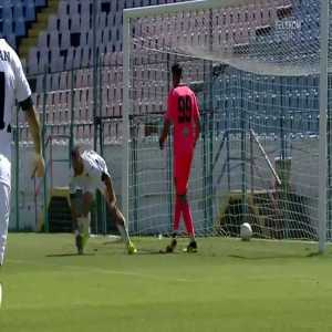 Gloria Buzau(Liga 2 Romania) goal after goalkeeper mistake