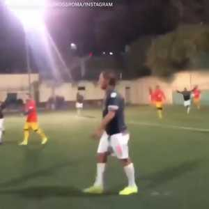Totti scores a worldie in his retirement Sunday League