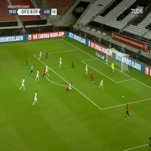 Germany 1-[1] Spain: Gaya goal 90+5'