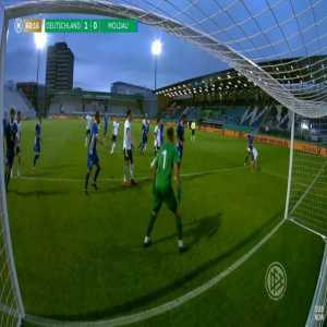 Germany U21 2-0 Moldova U21 - Lukas Nmecha penalty 61'