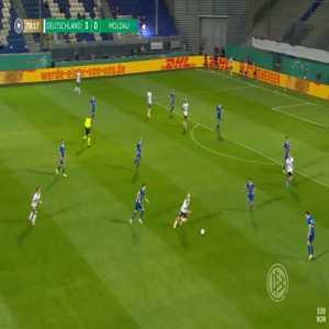 Germany U21 4-0 Moldova U21 - Florian Kruger 79'