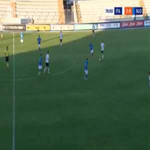 Italy U21 2-[1] Slovenia U21 - Matevz Matko 78'