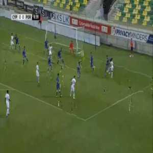 Cyprus U21 0-1 Portugal U21 - Diogo Leite 7'