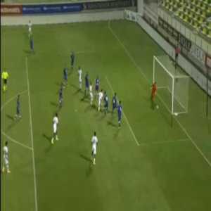 Cyprus U21 0-2 Portugal U21 - Diogo Leite 27'