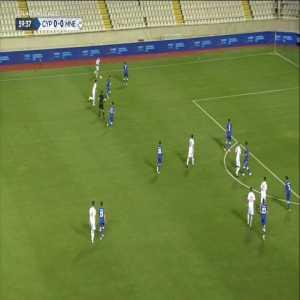 Cyprus 0-1 Montenegro - Stevan Jovetić 60'