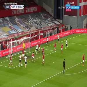 Denmark 0-1 Belgium - Jason Denayer 10'