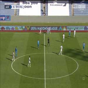 Harry Kane goal disallowed for England against Iceland 0-0 6'